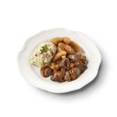 Culivers (90) Gelders stoofpotje kalfsvlees, stoofappeltjes en aardappelpuree met spekjes zoutarm