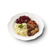 Culivers (92) boeuf bourguignon, rode bietjes en aardappelschotel met spek en ui zoutarm