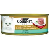 Gourmet gold hartig torentje kattenvoer met tonijn