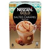 Nescafé oploskoffie Salted caramel mocha