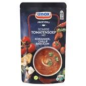 Unox proeverij romige tomatensoep