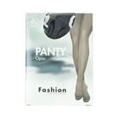 Fashion Panty opaque zwart maat 36-40, 40 denier