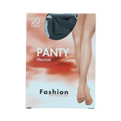 Foot-Leg panty mousse zwart maat 36-40, 20 denier