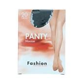 Foot-Leg panty mousse zwart maat 40-44, 20 denier