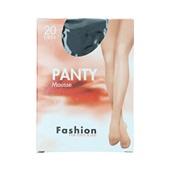 Foot-Leg panty mousse zwart maat 44-48, 20 denier