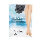 Foot-Leg panty lichtglanzend zwart maat 36-40, 15 denier
