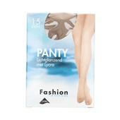 Foot-Leg panty lichtglanzend natuur maat 36-40, 15 denier