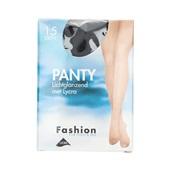 Foot-Leg panty lichtglanzend zwart maat 40-44, 15 denier