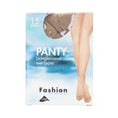 Foot-Leg panty lichtglanzend natuur maat 40-44, 15 denier
