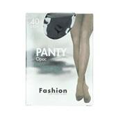 Fashion panty opaque zwart maat 40-44, 40 denier