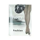 Fashion panty opaque zwart maat 44-48, 40 denier