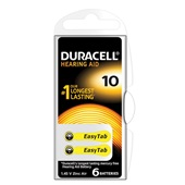 Duracell batterijen hoor 10