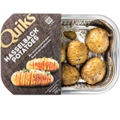 Spar hasselback potatoes