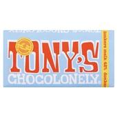 Tony's chocolonely chocoladereep Donkere melk 42%
