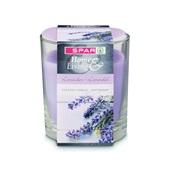 Spar Kaars Lavendel in glas