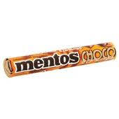 Mentos choco & caramel achterkant