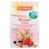 Zonnatura rood fruit muesli