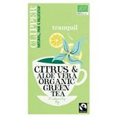 Clipper Clipper groene thee citrus en aloë vera