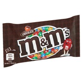 M&M'S chocolate  achterkant