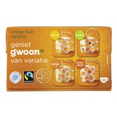 Gwoon thee 1-kops oranje fruit variatie