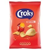 Croky Chips Naturel voorkant