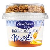 Zuivelhoeve boer'n yoghurt muesli honing voorkant