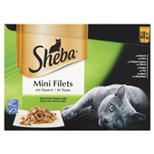 Sheba mini filets kattenvoer selectie van de chef