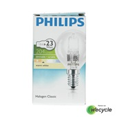 Philips Halogen Classic halogeenlamp kogel E14/18W (23W)