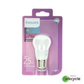 Philips LED kogellamp E27/4W (25W)