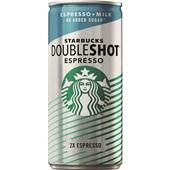 Starbucks doubleshot espresso & milk  zonder suiker