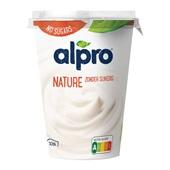 Alpro yoghurtvariatie naturel ongezoet