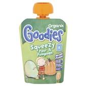 Organix goodies fruithapje squeezy peer en pompoen