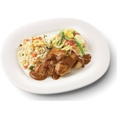 Culivers (7) kip in satésaus met sajour lodeh en nasi goreng gluten- en lactosevrij