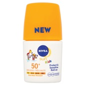 Nivea sun zonnebrand kids protect & sensitive roll on factor 50+