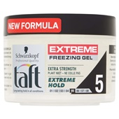 Taft extreme haarstyling freezing gel