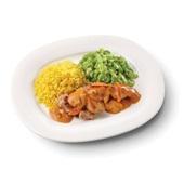 Culivers (35) kip stroganoff met snijbonen en gele rijst