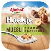 Almhof hoekje muesli chocolade hazelnoot