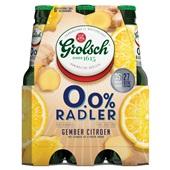Grolsch radler gember-citroen