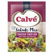 Calvé salademix kruiden en knoflook