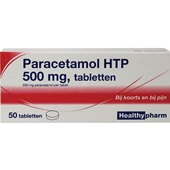 Healthy paracetamol tabletten 500 mg