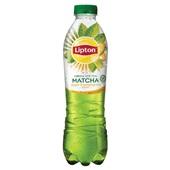 Lipton ice tea matcha ginger-lemongrass voorkant