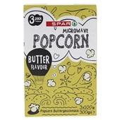 Spar popcorn butter
