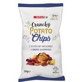 Spar chips aardappel 3-mix