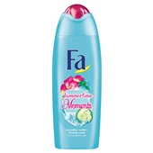 Fa summertime moments douche cucumber water & freesia scent