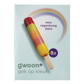 Gwoon mini regenboog ijsjes