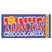 Tony's chocolonely donkere melk pretzel toffee
