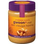 Gwoon pindakaas crunchy honing
