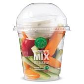 Spar groentemix met yoghurtdip