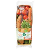 Spar maaltijdpakket  groente frites & Italiaanse pasta