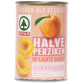 Spar Fruit in Blik Halve Perziken